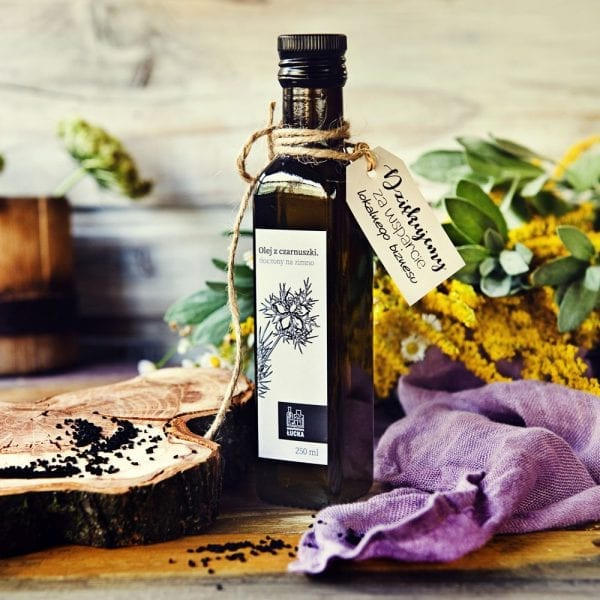 Olej naturalny z czarnuszki