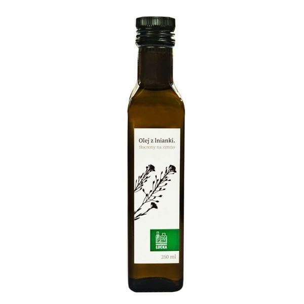 Olej naturalny rydzowy z lnianki
